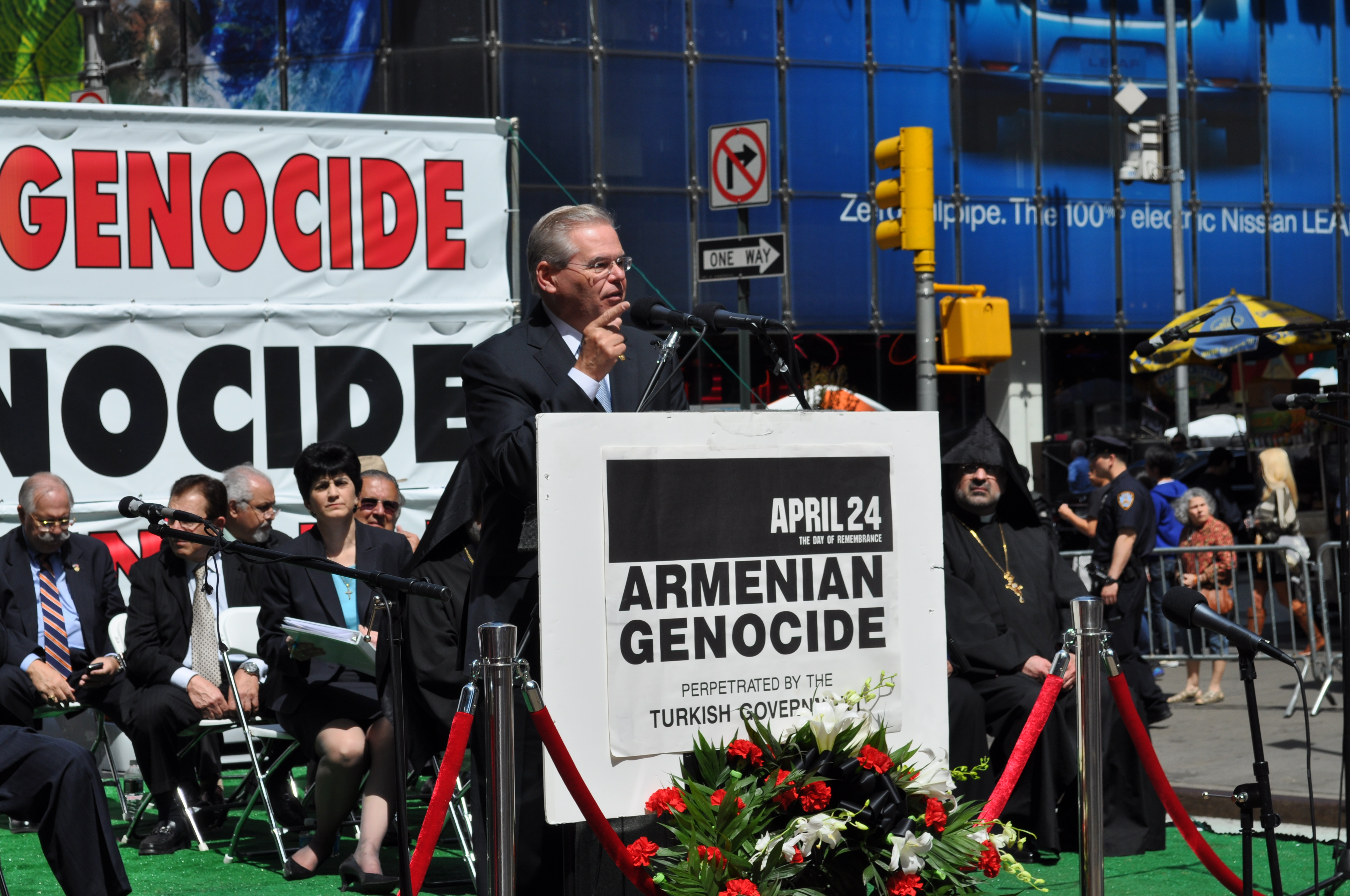 24 nyc recognize the n genocide commemorate the on sunday afternoon